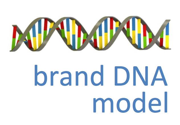 Merk DNA model voor DSM