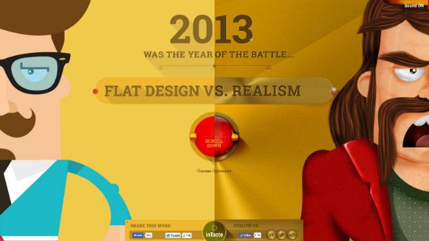 flat vs realism; scrolly telling ; online storytelling